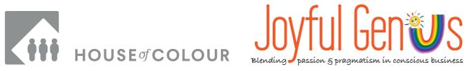 Joyful Genius - House of Colour logos